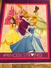 Disney Dream Big Princess 100 Cotton Fabric by The Panel Cp63617