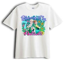 Frozen Fever  Personalized - Birthday T-Shirt Party Favor