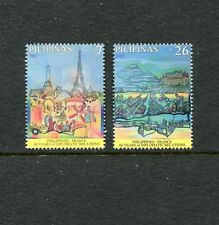 Philippines-France Diplomatic Relationship - 60th Ann. Scott 3091-92,  MNH, 2007