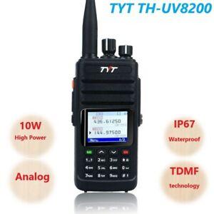 TYT TH-UV8200 Wasserdicht Analog Funkgeräte Ham Dual Band 10W Walkie Talkies