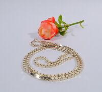 lange schwere Kette Halskette Venezianerkette 835 er Silber 102 Gramm L 96 cm