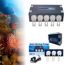 JEBAO Auto Dosing Pump Automatic Doser for Reef aquarium Fish Tank Pond DP-3/5
