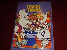 1975 PB Golden Family FunTime Book - Magic Tricks Easy Stunts Amaze Your Friends