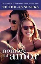 En Nombre del Amor (Movie Tie In) by Nicholas Sparks (Paperback / softback, 2016)