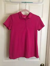 Womans Small Polo School Uniform Type pink