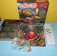 Disney Pixar Cars 3 TROUBLE Board Game with Pop-O Matic Dice Roller by Hasbro