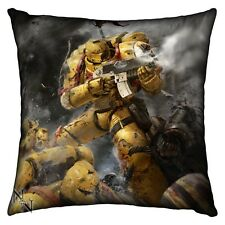 40K Space Marines Imperial Fists CUSHION (42 cm) NEW
