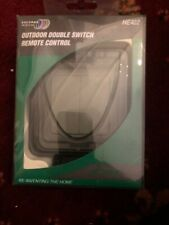 Byron Home Easy Outdoor Double Switch Remote Control HE402