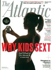 2014 The Atlantic Magazine: Why Kids Sext & What to Do About It/China