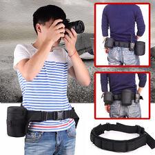 Adjustable Quick Release Waist Belt Strap Hanger for Camera DSLR Accessories