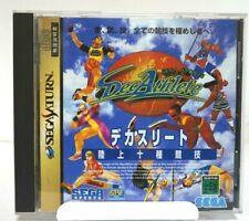 Decathlete Sega Saturn from japan