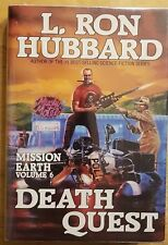 L. RON HUBBARD Mission Earth Volume 6 Death Quest hardcover book
