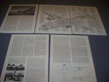 VINTAGE..CASA CN-235..HISTORY/CUTAWAY/3-VIEWS/SPECS..RARE! (239F)