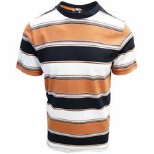 Volcom Men's Burnt Orange Chromatic Crew S/S T-Shirt (S02)