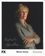 Hand Signed 8x10 photo GLENN CLOSE in DAMAGES + my COA