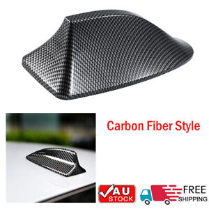 Carbon Fiber Car Antenna Shark Fin Cover Car Radome General Purpose Super V1B8