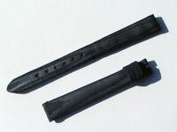 12mm Chopard Uhren Armband Ersatzband Satinarmband Satin blau 70/105 neu C12-02