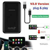 Wireless IOS Carlinkit V2.0 Bluetooth USB Activator For Car W/ OEM Wired CarPlay