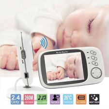 "3.2"" Digital Wireless Baby Monitor 2-Way Talk Night Vision Video Audio Camera"