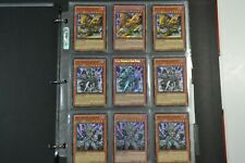 Yugioh Dark World 3 Lot Deck collection 40 Cards 14 Holos & Rares