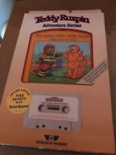 Teddy Ruxpin adventure series fire safety with teddy Ruxpin In Retail Box Vntg