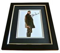 John Hurt SIGNED 10x8 FRAMED Photo Autograph Display Doctor Who Memorabilia COA