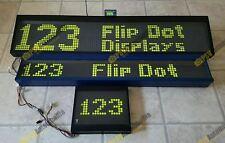 Hanover Flip Dot Displays BUNDLE 3 Bus Coach Destination Home Office 24V LED