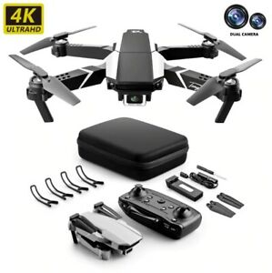 4k HD Dual Camera Visual Positioning 1080P WiFi Fpv Drone Height Preservation Rc