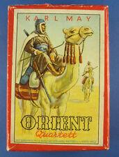 ORIENT Quartett - Nr. 501/51 - KARL MAY - Kartenspiel - Harry Wolf