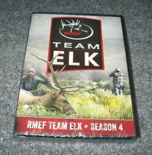 RMEF Team Elk: 2015 Season 4 DVD Rocky Mountain Foundation Hunting Series NEW