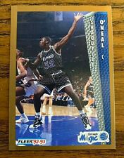 1992-93 Fleer #401 Shaquille O'Neal RC - Magic HOF