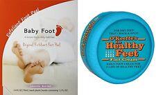 Baby Foot Exfoliant Peel + O'Keeffe's Foot Cream