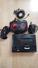 Sega Mega Drive (PAL), mit Controller und Quickshot Controller