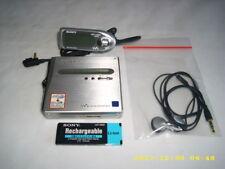 SONY MZ-NH1 Portable Minidisc Recorder MD Walkman MD-Player