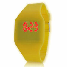 Quartz (Battery) Rectangle Silicone/Rubber Case Wristwatches