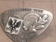ABZEICHEN SCHÜTZEN BAD WINDSHEIM 1963