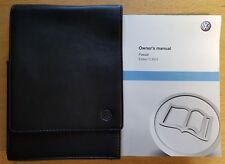 GENUINE VW PASSAT B7 2010-2014 OWNERS MANUAL HANDBOOK WALLET PACK D-592