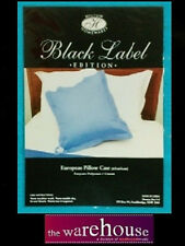 VARIETY COLOURS European 65X65 EURO PILLOW CASE PILLOWCASE 250 TC* POLY COTTON