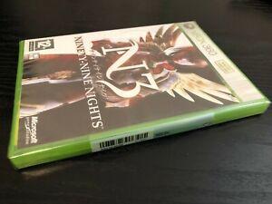 Xbox 360 - N3II Ninety-Nine Nights **New & Sealed** Xbox Series X Compatible