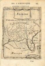 SE USA. Florida as'Tegesta', Mississippi River 'Spiritu Santo'. MALLET 1683 map