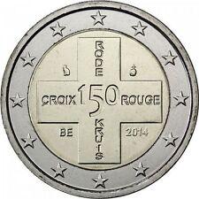 Belgium 2014 :  2 euro Rode Kruis/Croix rouge