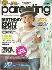 Parenting April 2013 Autism Report/Birthday Party/Snack Police/Dieting?/Pasta