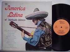 EL BARBUDO BLANCO disco LP 33  AMERICA LATINA stampa ITALIANA 1980 MADE in ITALY