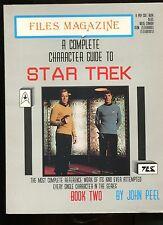 STAR TREK Files Magazine - A COMPLETE CHARACTER TO STAR TREK II  .Ed en ANGLAIS.