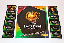 Panini EM EC Euro 2004 04 – 10 Tüten packets bustine sobres + ALBUM MINT!