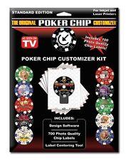 The Original Poker Chip Customizer Kit w/ FREE Shipping