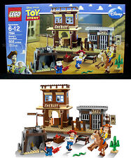 New - Toy Story WOODY'S ROUNDUP - Lego 7594 4 MINIFIGS Prospector BULLSEYE