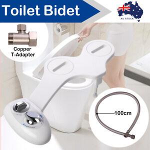 Toilet Bidet Seat Attachment Spray Hygiene Water Wash Clean Sanitation Bathroom