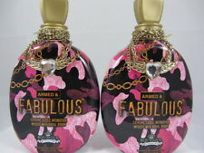 2 PACK- ARMED & FABULOUS EXTREME SIZZLE INTENS. TANNING LOTION by Designer Skin
