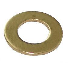 100x rondelle plate M4 Ф8mm H0.5mm laiton
